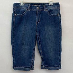 🎉3/$20 Nine West Jean Capris Size 10 A-31